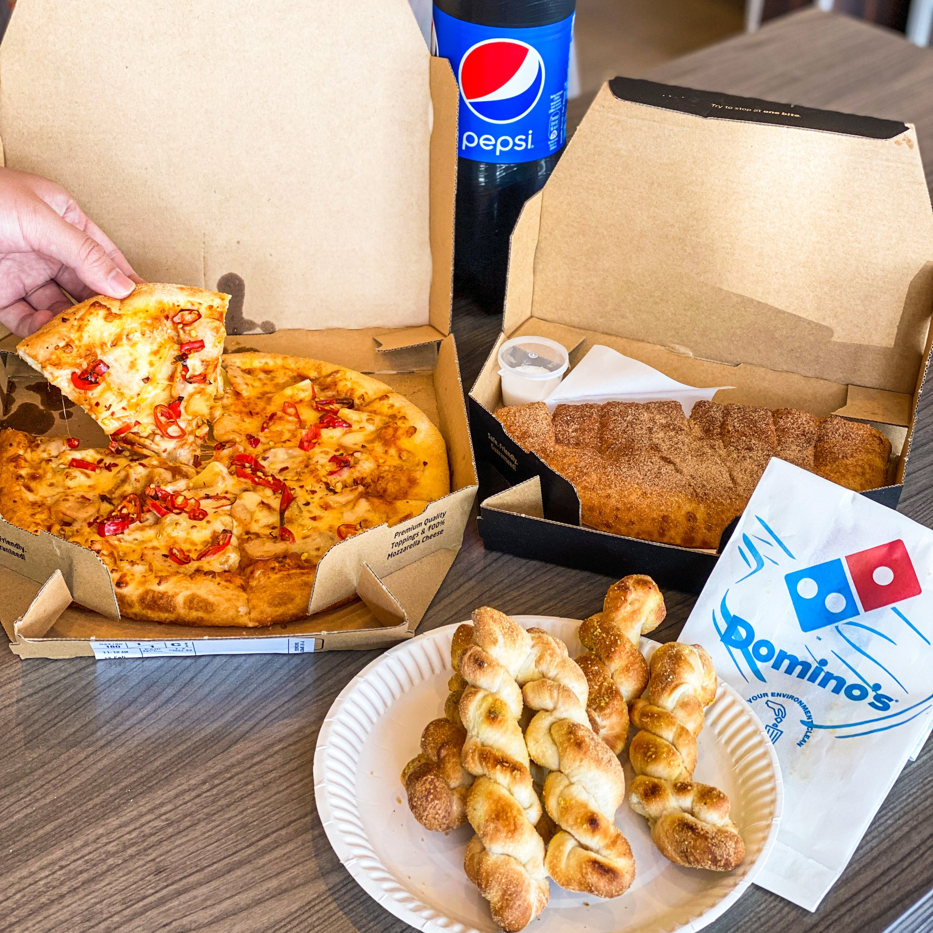 Domino's Pizza Buy 1 Free 2