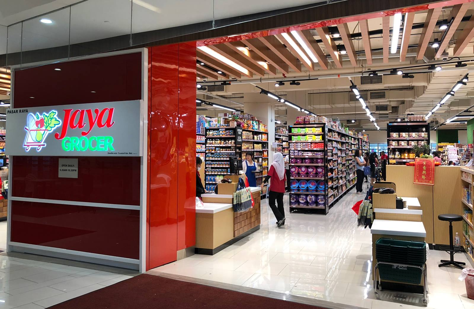 Jaya Grocer Special Opening Hour
