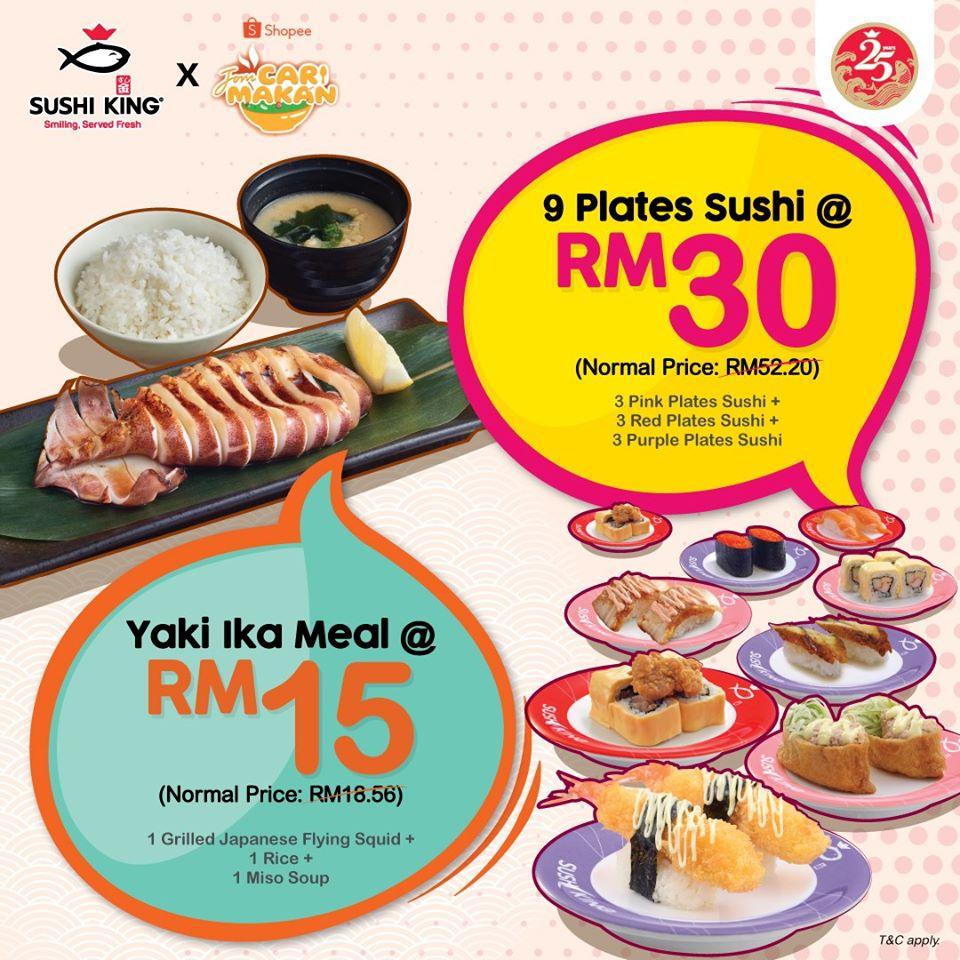 sushi king deals