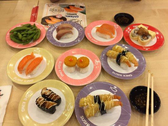 9 plates