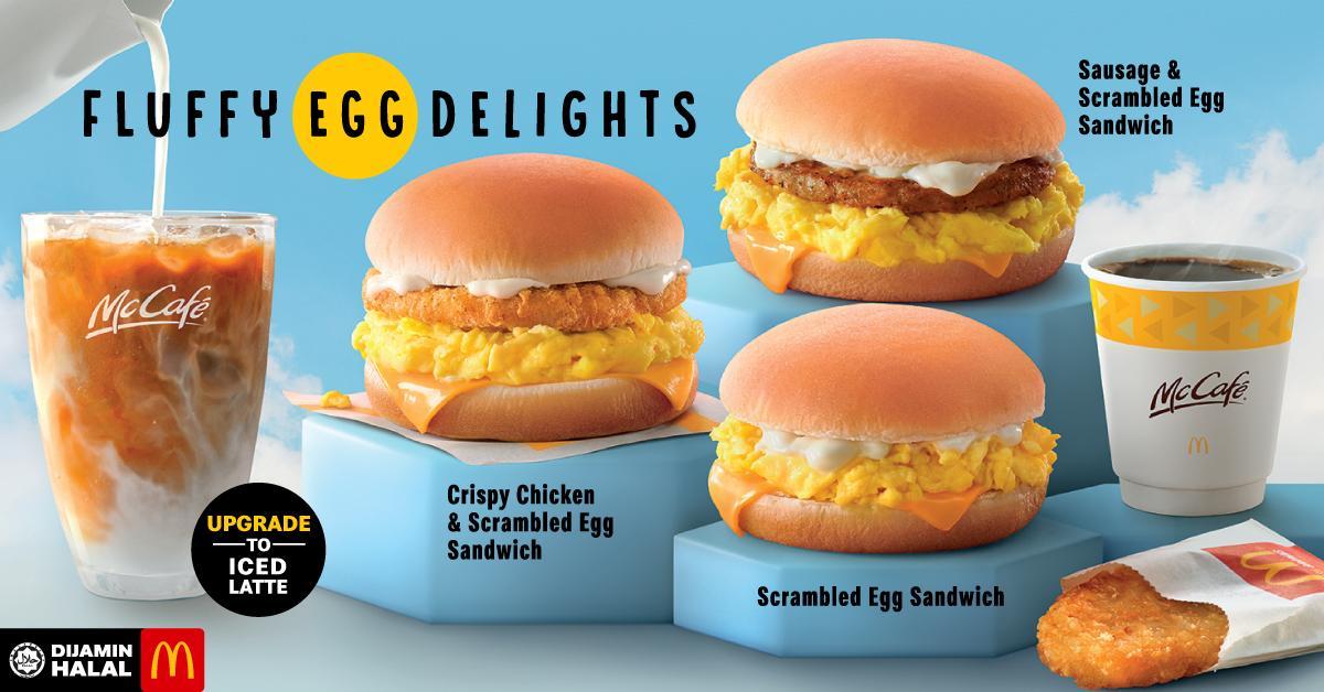 mcdonald's fluffy egg delights