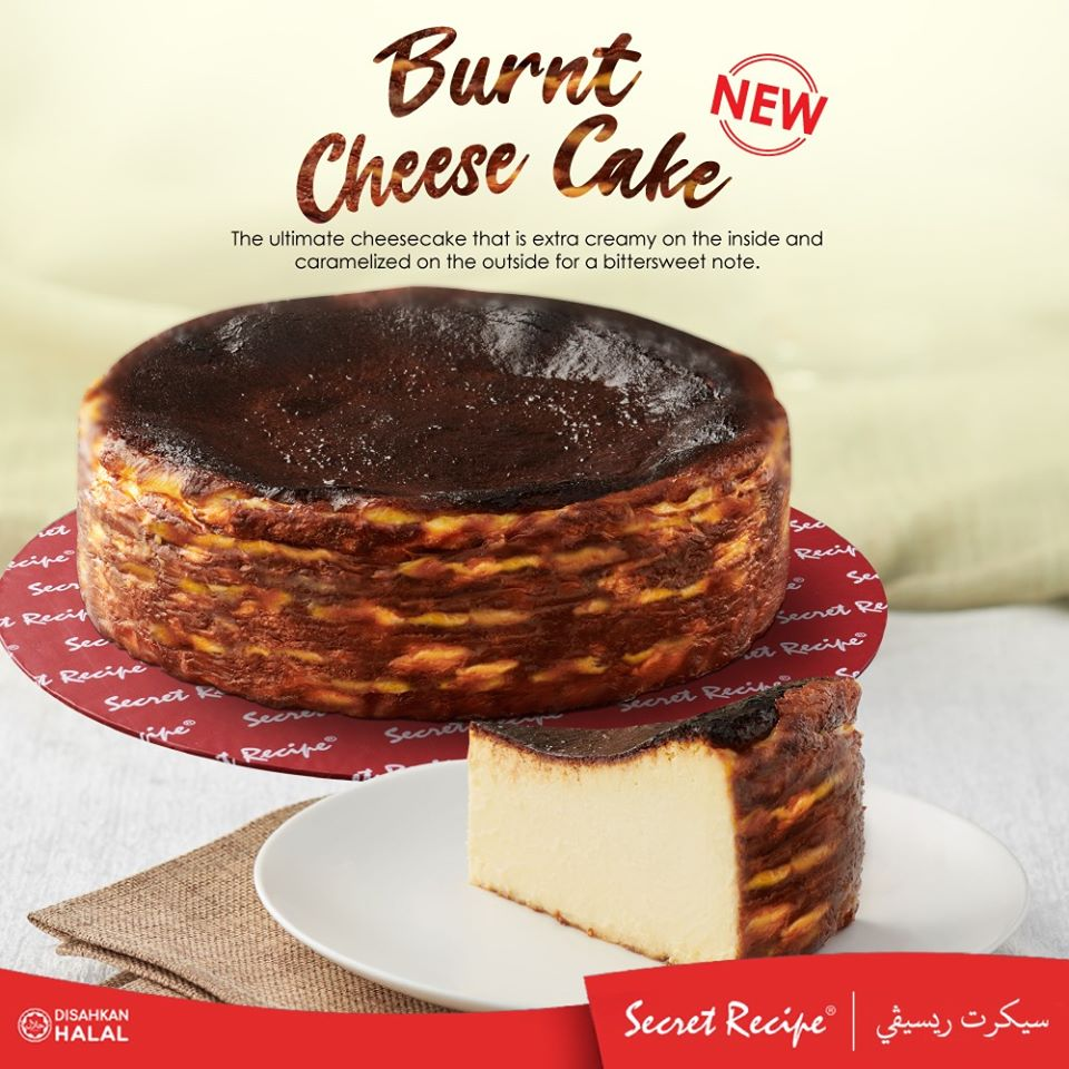 Secret Recipe Burnt Cheesecake