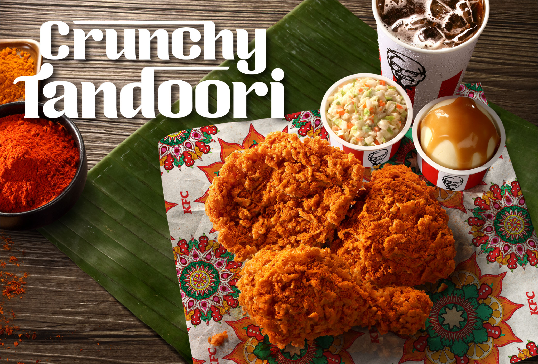 KFC Crunchy Tandoori