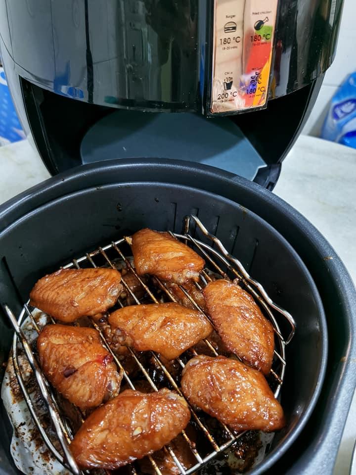 Honey Chicken Wings Air Fryer Recipe